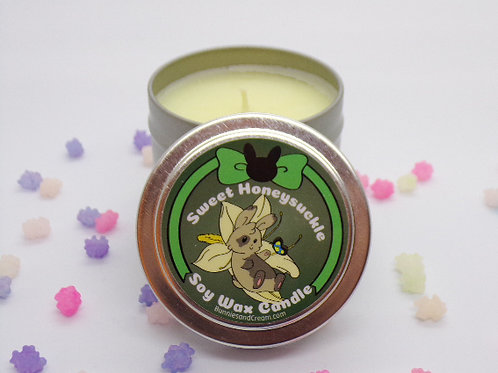 Sweet Honeysuckle Soy Candle