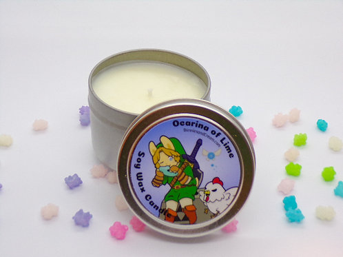 Ocarina of Lime Soy Candle