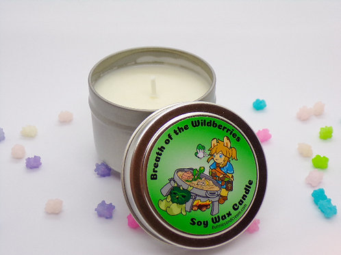 Breath of the Wildberries Soy Candle