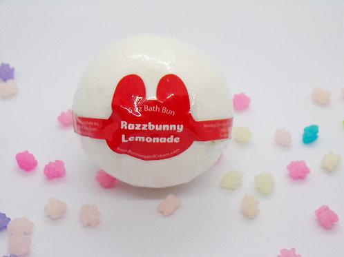 Razzbunny Lemonade Bath Bun