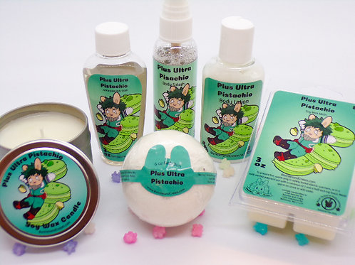 Plus Ultra Pistachio Product Collection