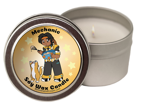 Mechanic Soy Candle