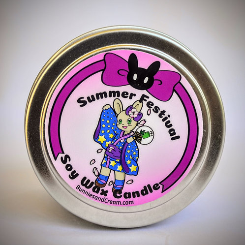 Summer Festival Soy Candle