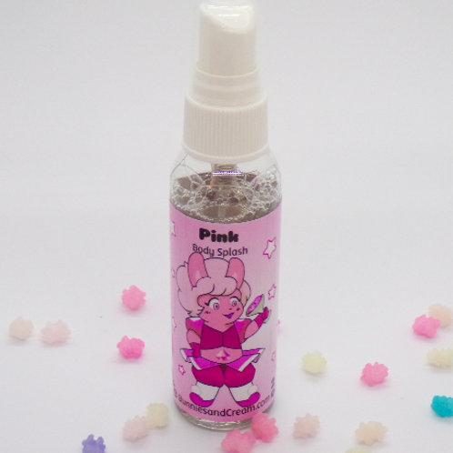 Pink Body Splash