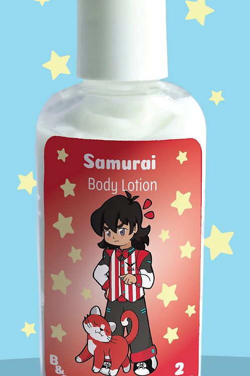 Samurai Body Lotion