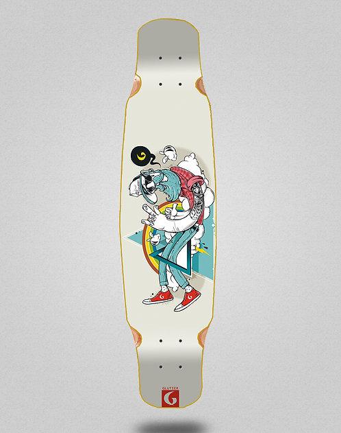 Glutier Abel G.N. longboard deck dance 46x9