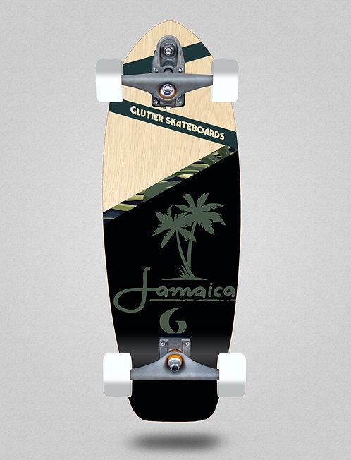 Glutier surfskate : Jamaica wood 31