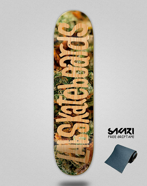 Lab skate deck Institu weed