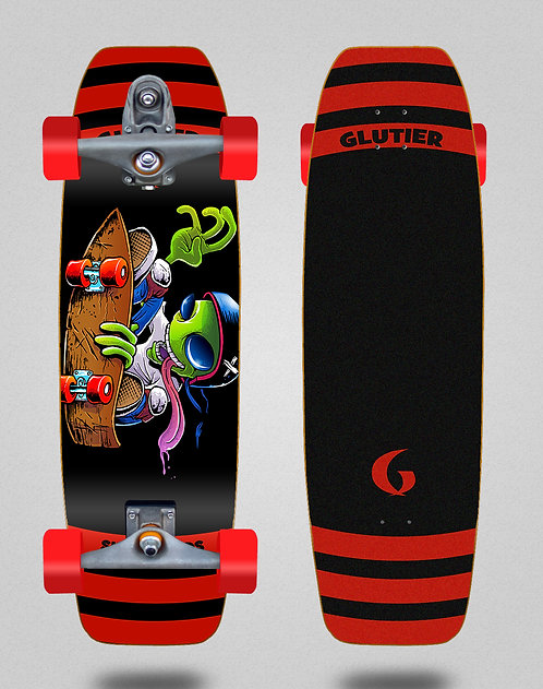 Glutier surfskate : Chentrail 32 tail nose T12 trucks