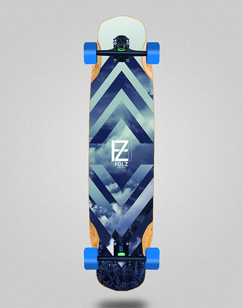 Holz clouds gram longboard complete 38x8.45
