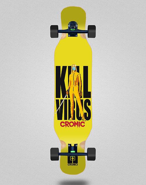 Cromic Covid Kill virus longboard complete 46x10
