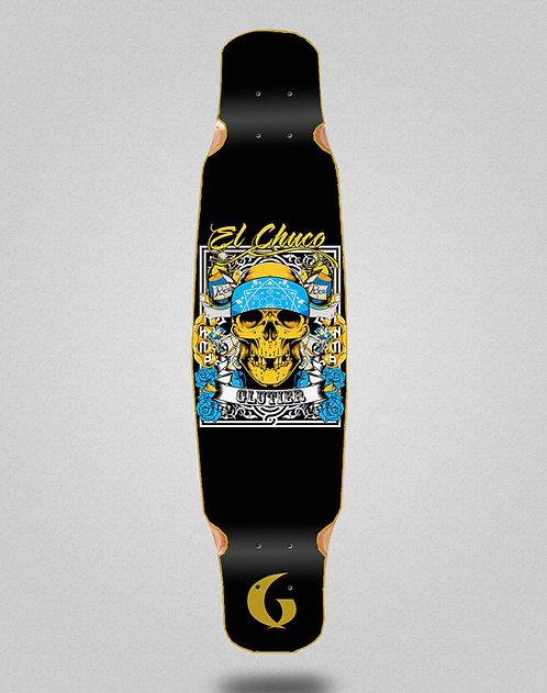 Glutier Chuco longboard deck dance 46x9