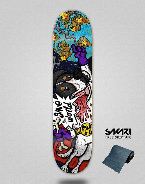 Skate shok deck Spike space og