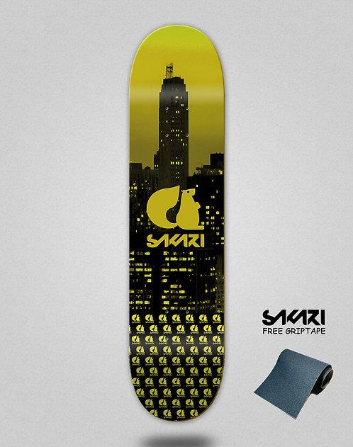 Sakari City yellow skate deck