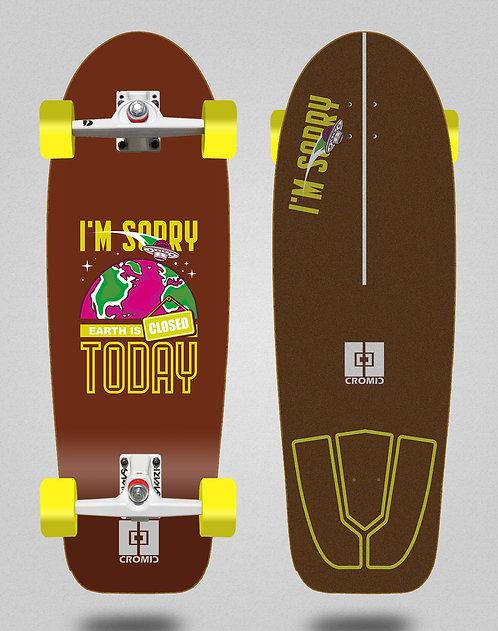 Cromic surfskate SGI Covid Earth brown 30,5