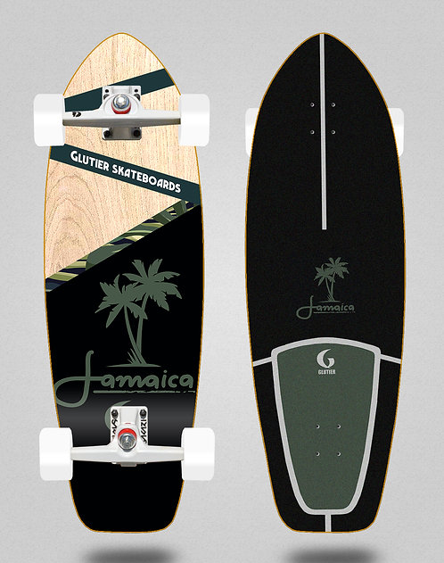Glutier surfskate SGI trucks - Jamaica wood 31