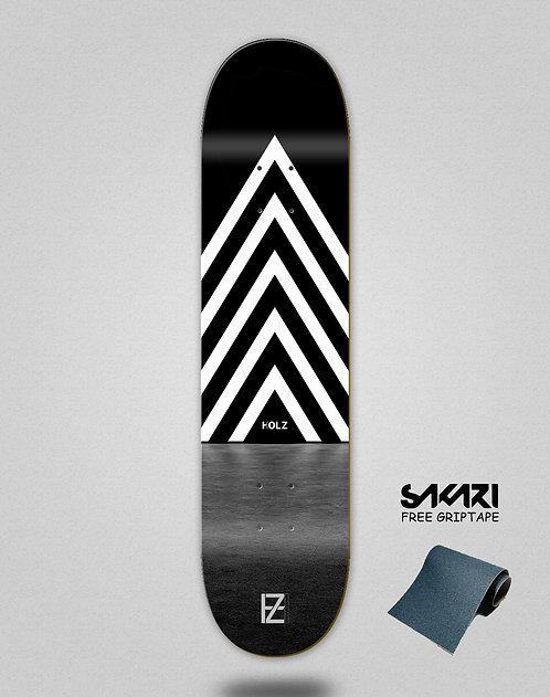 Holz dark gram skate deck