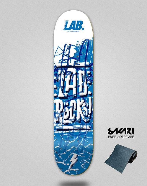 Lab skate deck Lab rocks