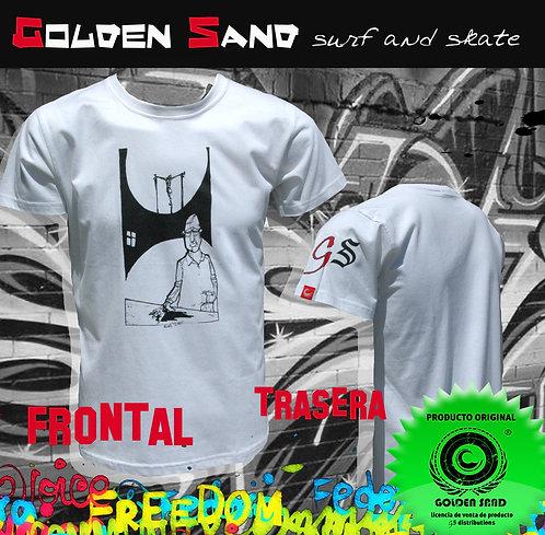 Golden Sand. T-shirt Jesus