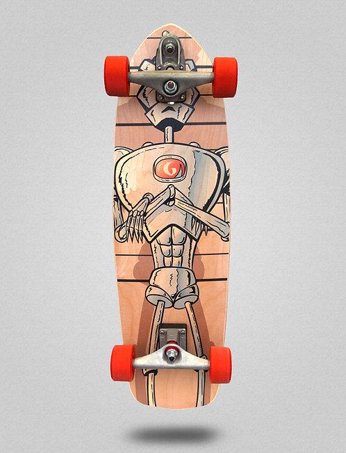Glutier surfskate : Villain Technologies 34