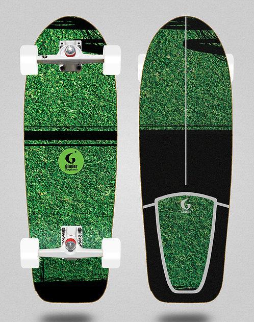 Glutier surfskate - Grass new 30,5 SGI trucks