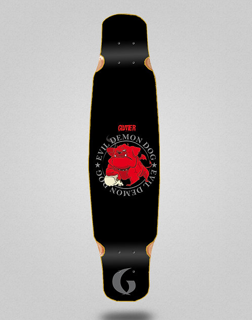 Glutier Demon dog longboard deck dance 46x9