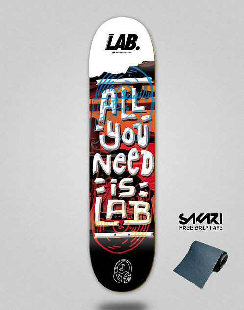 Lab skate deck All you need is lab