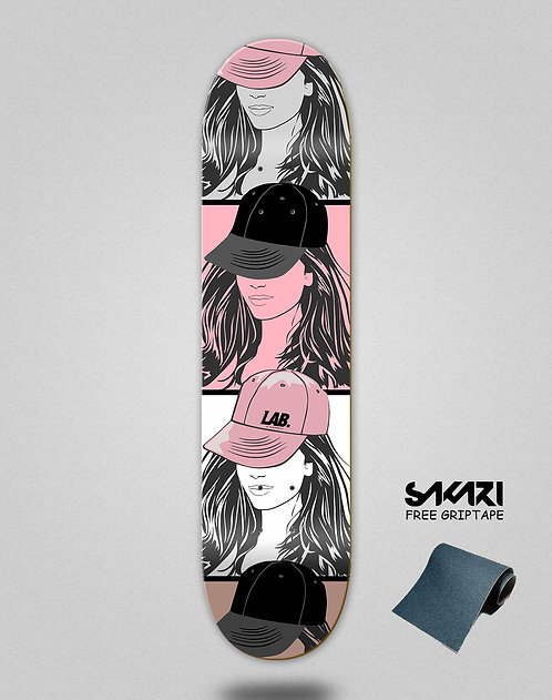 Lab skate deck Tom boy