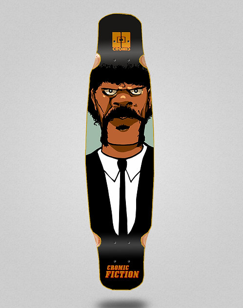 Cromic Fiction longboard deck dance 46x9