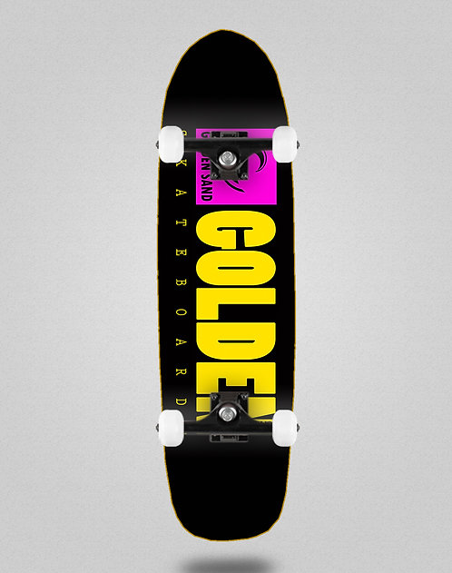 Golden Sand icon black pink yellow pool deck complete 8,5