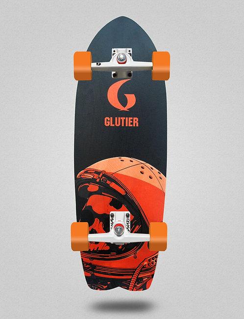 Glutier surfskate - Space mirror orange 29