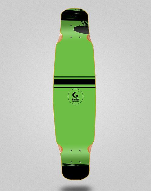 Glutier Grass longboard deck dance 46x9