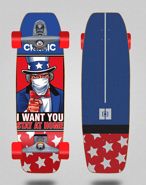 Cromic surfskate T12 trucks C19 I want you 31.5
