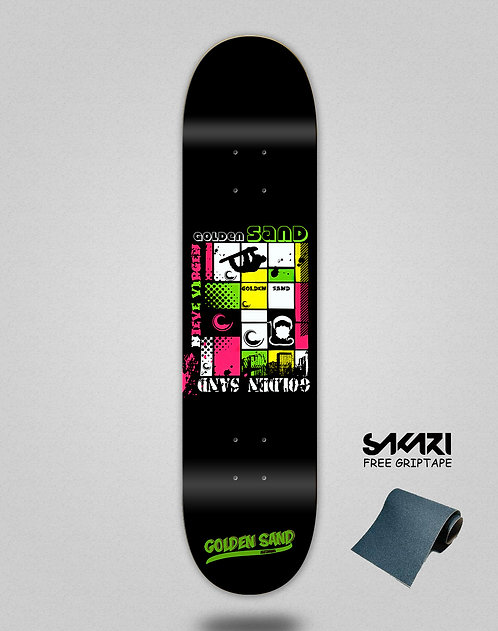 Golden Sand Snowboard skate deck