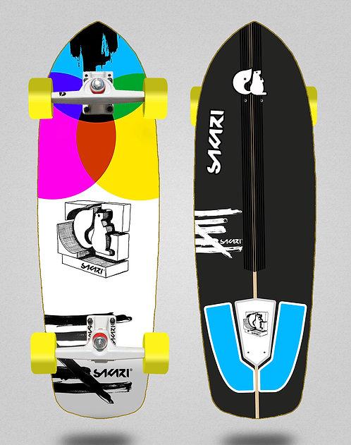 Sakari surfskate - Chroma 34 SGI trucks