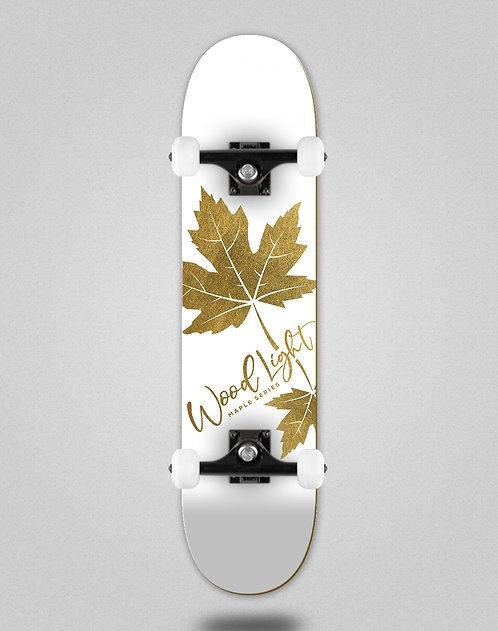 Wood light maple gold Oliveira skate complete