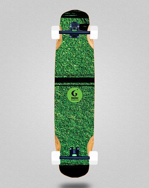 Glutier Grass new longboard complete 38x8.45