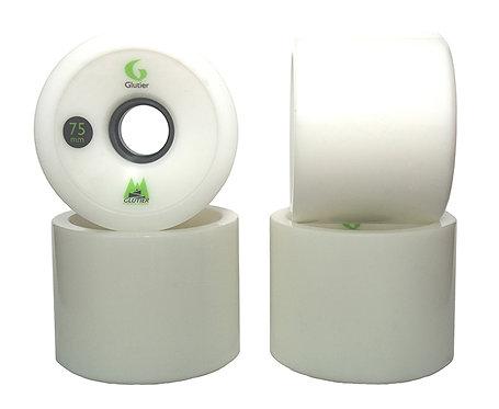 Glutier wheels : 75x58mm 78a white