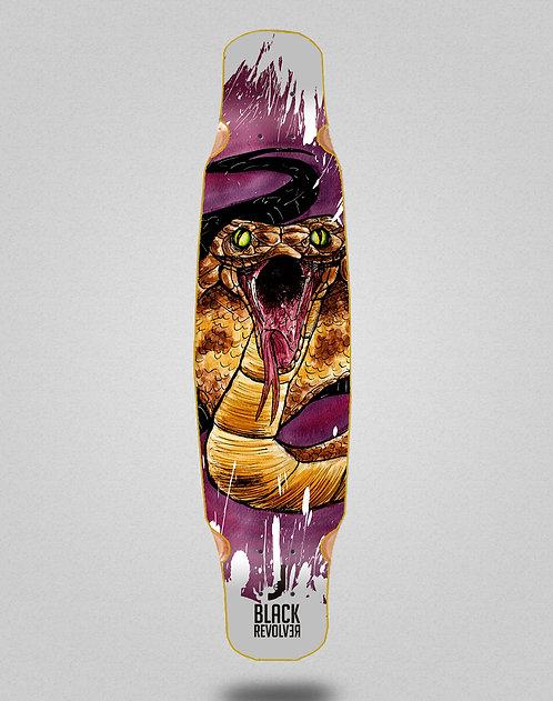 Black Revolver Acril Cobra longboard deck bamboo dance 46x9