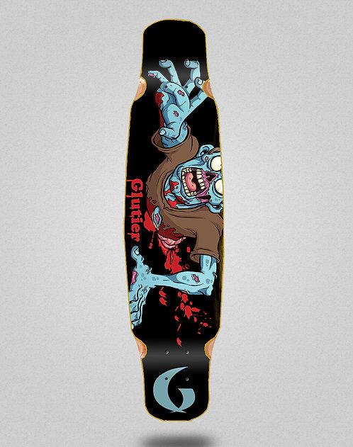 Glutier Final zombie longboard deck dance 46x9