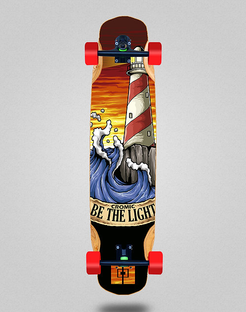 Cromic Be the light longboard complete 38x8.45