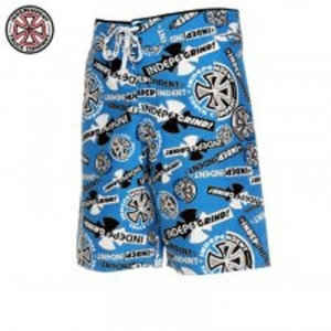 Independent boardshort - Ripped blue