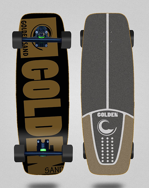 Golden Sand cruiser Degraded blk brwn 27.25