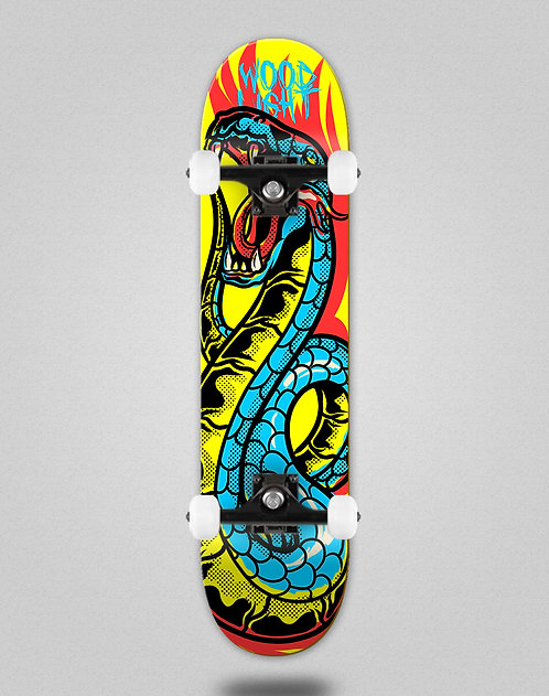 Wood light Animal fight snake skate complete