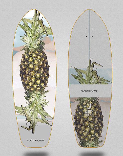 Black Revolver surfskate deck Rotten fruit 3 31