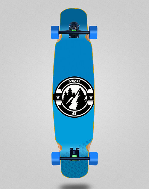Sakari Downhill juice blue longboard dance complete 46x9