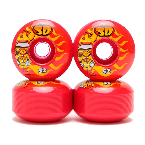 Speed Demons Characters hot shot red 52mm