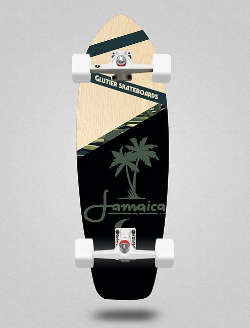 Glutier surfskate - Jamaica wood 31