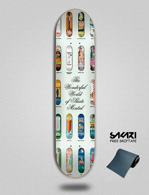 Skate Mental Wonderfull world 8.0