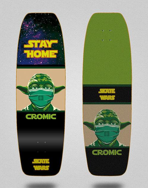 Cromic surfskate deck Covid Skate wars 31.5